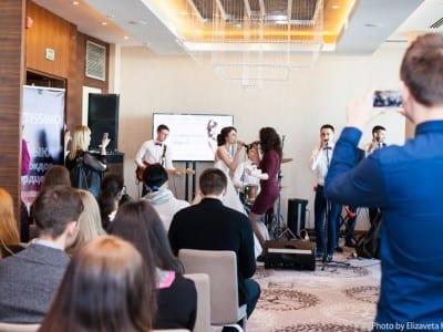 концерт на свадебной выставке